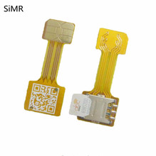 SiMR 4pcHybrid Double Dual Sim-card Adapter Micro SD Nano SIM Extension Adapter Android Mobile Xiaomi Redmi Note3 4 3s Prime Pro