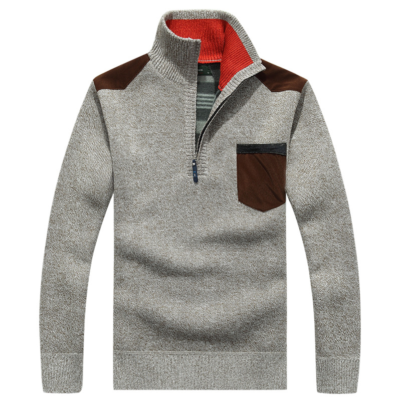 Men Autumn and Winter Knitted Sweater and  Pullovers Men 39