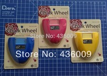 DIY Sewing Parts Chalk Wheel Three Colours --- Rosy red / Yellow / Blue(3PCS)Made in Taiwan
