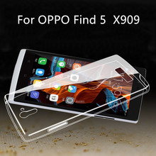for OPPO find 5 x909 case high quality TPU phone case for OPPO find 5 x909 cover free shipping for OPPO find 5 x909 back cover