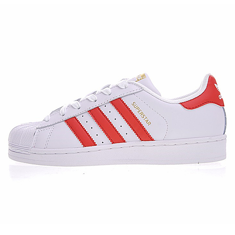 superstar red stripes