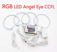 4 Pieces Car RGB led Linght Angel Eyes For LEXUS IS200 IS300 1998-2005 Excellent Angel kit Multi Color Halo Ring