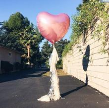 1Pcs Oversized 75cm Wedding Party Happy Birthday Day Red Love Heart Balloon Foil Air Balloons Decor Balloons Marriage Ballon
