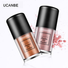 UCANBE Brand 10Color Shimmer Glitter Single Illusion Eye Shadow Powder Eyes Makeup Gold White Highlight Eyeshadow Powder Make Up