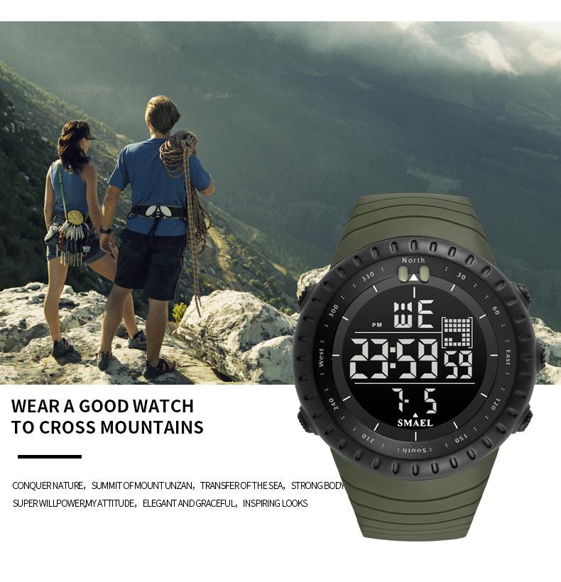 4.digital watch light waterproof