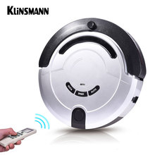 Klinsmann Intelligent Robot Vacuum Cleaner Slim HEPA Filter Cliff Sensor Remote Control Self Charge KRV209 ROBOT ASPIRADOR