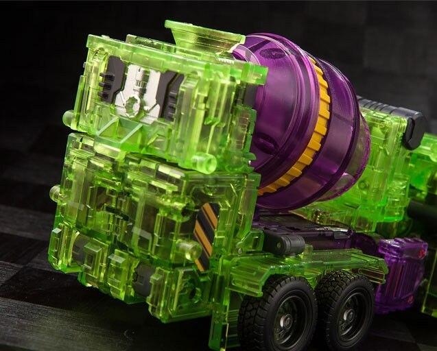 Toyworld Tw-C07c Constructor Devastator Green Transparent Version Action Stock