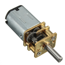EBOWAN N20 DC Gear Motor 3v 6v 12v for Electronic automatic door locks intelligent robots toy cars Model plane Speed Optional