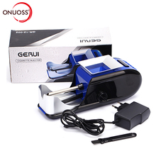 ONUOSS Portable Electric Automatic Cigarette Rolling Machine Tobacco Roller Maker Inject Tube 8mm Cigarette JL-031A(China)