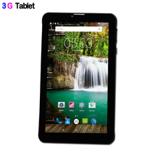 3G Phone Call Quad Core IPS LCD Android 5.1 Lollipop Tablets pc Bluetooth 8GB Mini Pad SIM 32GB Card Leather cover 7 Inch Tab
