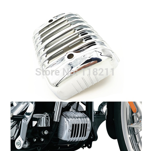 RPMMOTOR Chrome Voltage Regulator Cover For Harley Heritage Softail Classic FLSTC 2001-2016<br>