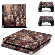 The Witcher 3: Wild Hunt - PS4 Designer Skin Decal for PlayStation 4 Console System and PS4 Wireless Dualshock Controller