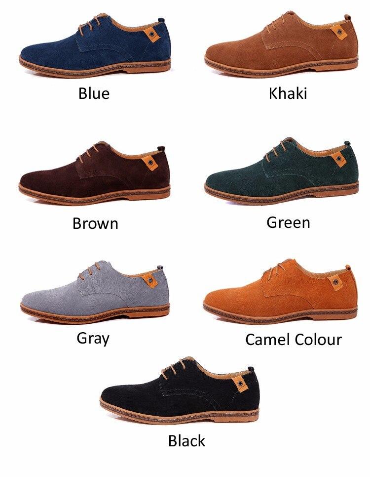 Classic Men Flats Gentleman Oxford Genuine Leather Dress Shoes Men Flat Shoes Luxury Casual Shoes Size 39-47 2