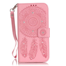 Diamond Bling Case S5 Wallet Case for coque Samsung Galaxy S5 Cover Case i9600 for fundas Samsung S5 Case Cover + Card Holder