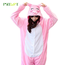 2017 Wholesale Animal pajama sets Adult Unisex Cosplay Men pyjamas women Onesie cartoon warm Sleepwear suit pajamas woman