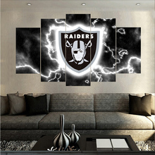 Own factory Design Football Sports Logo Oil Painting On Canvas Modern Home HD Pictures Prints Living Boys Room Poster Unframed