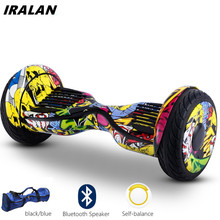 Self-balancing scooter IRALAN Hoverboard 10 Inch 2 Wheels electric scooter