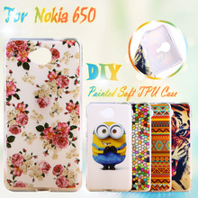 Painted Soft TPU Silicone Phone Cases For Microsoft Nokia Lumia 650 N650 4.5 inch Cases Houisng Covers Shell Skin Gel Phone Bags