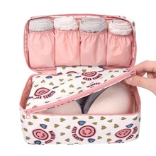 2017 Novelty Fashion Bra Underwear Lingerie Travel Bag  for Women Organizer Trip Handbag Suitcase Space Saver Bag