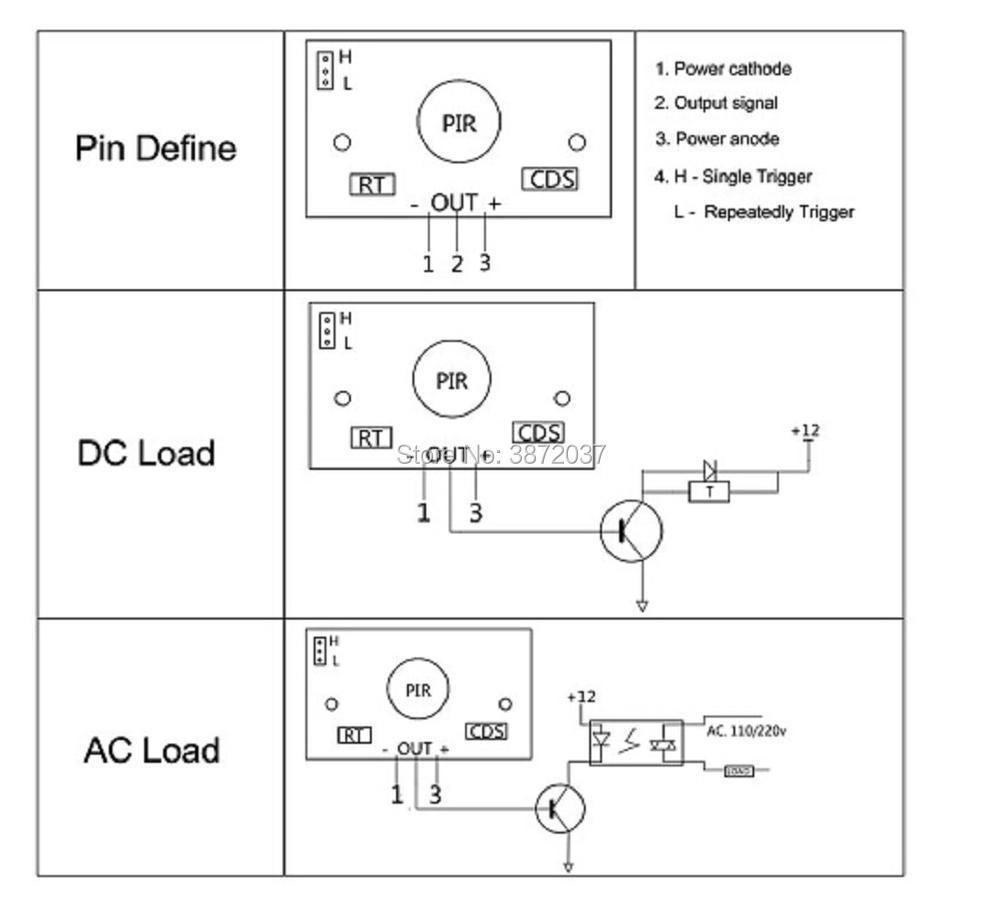 FZ0057-HC-SR501 Pir Infrared IR Sensor-5