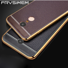 Fashion Soft Plating Litchi Leather Case Cover For Xiaomi Redmi 3 3s 4 4x 4Pro Note 3 4 4X pro prime Note4 Global Version