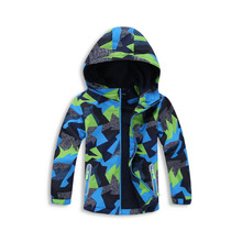 Fleece Hooded Coat For Kids 3-12Years Children's Windbreaker Fashion Trench Coat Chaqueta Nino Boys Jacket For Spring Autumn(China)