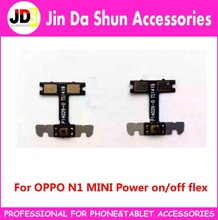 50pcs/lot For OPPO N1 MINNI Power Switch On Off  Key Button Flex Cable Compatible for many China Brand Phone