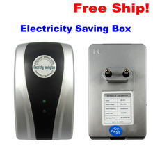 Hot selling c EU Plug Electric Saver Device Power Factor Saver Electronic Energy Power Saver