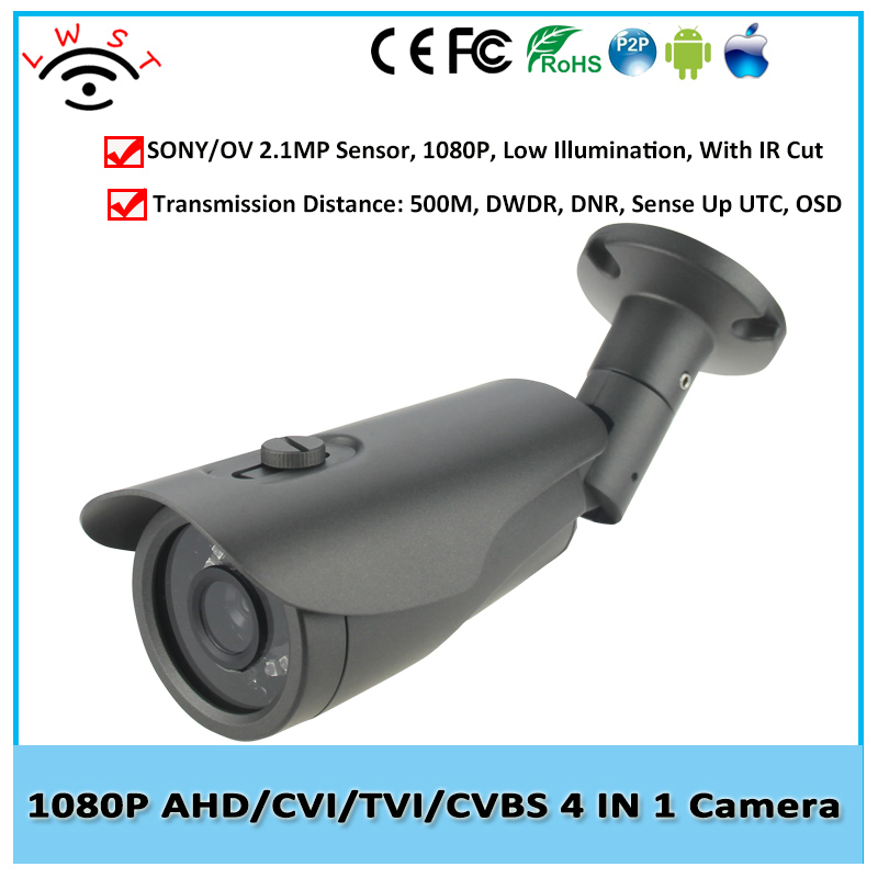 Good Ultra Low Illumination 1/2.9 SONY IMX322 AHD Camera 1080P Outdoor Full HD CCTV AHD Security Camera With 3MP Len OSD Cable<br><br>Aliexpress