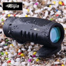 BIJIA 10 x 32 Roof BAK4 Prism Single-tube Monocular Night Vision Telescope 126m / 1000m Binocular For Auto racing Hunting(China)