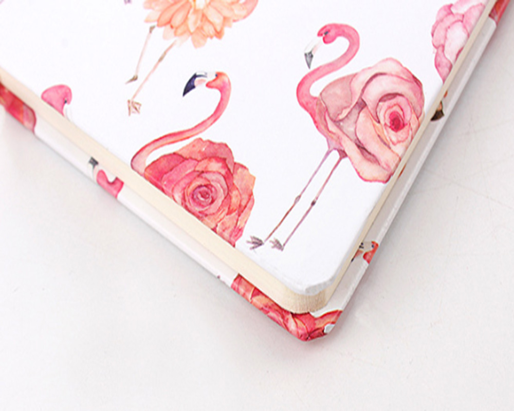 A5 A6 A7 Fashion Flamingo Strapping NotAgenda Take Notes Write Diary Student Stationery Office Chancery Supplies4