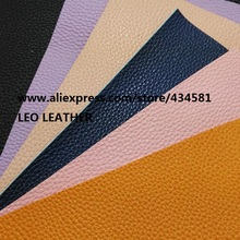 20X22cm  Artificial Leather, Synthetic Leather, Faux  Leather Fabric with color PVC backing P810