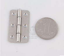Hardware supplies  Hinges Furniture Accessories Jewelry Boxes Small silver  Hinge Furniture Fittings 37mm*22mm*0.9mm
