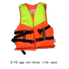 for child 2016 Kids Life Jacket life Vest Child PFD 5-10 Years Old Boy Girl Swiming Life Safety Water Sports swimwear aid vest