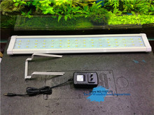 Aquarium lid LED light fish tank aquatic plant lamp C-50/C-60 29 inches 48 LED 220-240V marine freshwater lighting free shipping