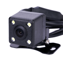 Waterproof 4 LED Night Vision Car CCD Rear View Camera Parking Assistance Camera For Android For DVD Monitor(China)