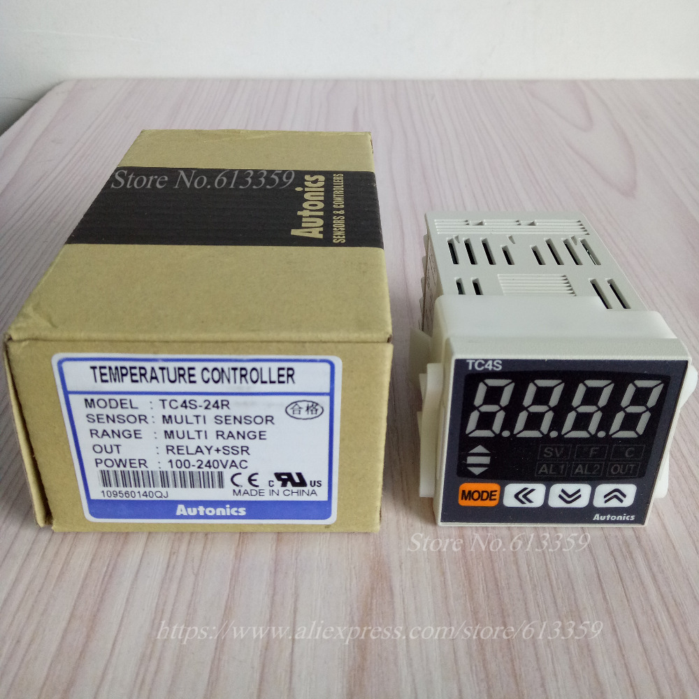 TC4S-24R TC4S-14R 100% New & Original Temperature Controller  100-240VAC(China)