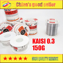 Kaisi soldering iron solder wire of low temperature high purity tin tin article 150 g 0.3 free shipping(China)