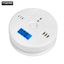 Home Security 85dB Warning High Sensitive LCD Photoelectric Independent CO Gas Sensor Carbon Monoxide Poisoning Alarm System