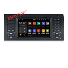 1024*600 Quad core Android 6.0 Car radio PC player for 5 Series X5 E39 E53 M5 with Radio WiFi BT Canbus support OBD2 DVR 2G RAM