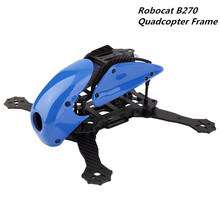 Robocat B270 270 Carbon Fiber Quadcopter Frame for CC3D EVO Flight Controller 2204 Motor  12A ESC 5030 Propeller (unassembled)