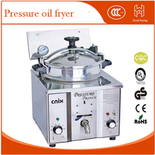 Table top cooking commercial industrial Pressure fryers cooker electric deep fryer chicken oil high 16L