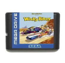 Wacky Races Game Cartridge Newest 16 bit Game Card For Sega Mega Drive / Genesis System(China)