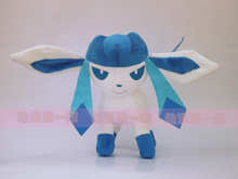 about 28cm anime figure Glaceon plush toy soft doll birthday gift b0677(China)