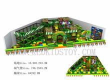 Customized for Clients in Turkey Electronic Indoor Kids Playground  Free Design 161028b