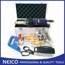 Free Shipping - High Quality Plastic Welder Hot Air Tools Kit , Single Ply Roofing Welding Kit With Heat Gun And Hot Air Parts(China)