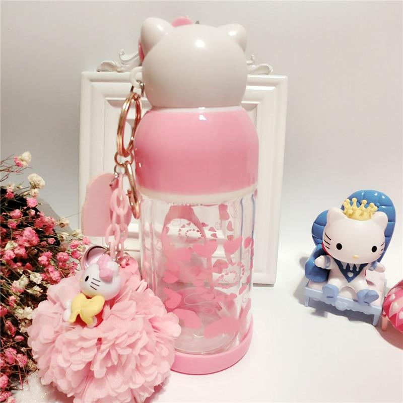 Hellokitty-Double-Insulated-Glass-Bottles-Leakproof-Lady-Cartoon-Cute-KT-Cat-Portable-Creative-water-bottles-MI7 (4)