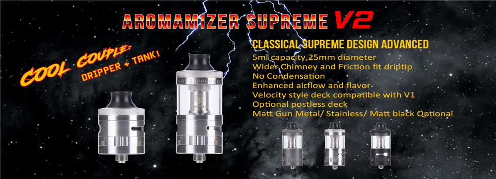 Steam Crave Aromamizer Superme V201