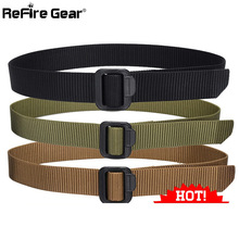 US Army SWAT Military Equipment Tactical Belt Men Casual Brand TDU Thicken Nylon Adjust Metal Buckle Militar Combat Belt Male
