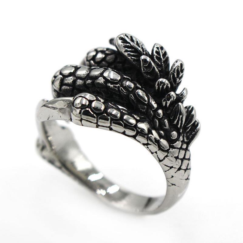 แหวนสวยๆ Code 039 แหวนDragon Claw สแตนเลส11